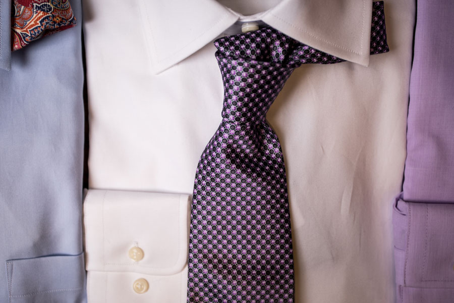 Furnishings & Accessories - purple tie