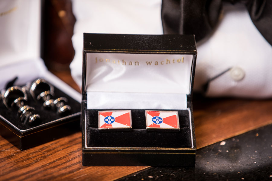 Furnishings & Accessories - Wichita flag cufflinks