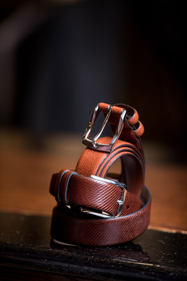 Shoes & Belts - brown belt
